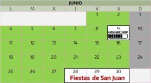 Horario Grupo Mateo Junio 2018. Atención al público Grupo Mateo.